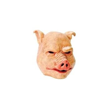 amazoncom looney toons child porky pig mask toys amp games