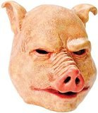 Bristol Novelty Pig Latex Mask, One -