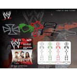 Forever Collectibles WWE Superstars Series 3 Logo Bandz Bracelets Including *Shamus*Triple H*Kofi Kingston* + Free Carabina To Carry Your WWE Series 3 Bandz