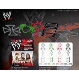 Forever Collectibles WWE Superstars Series 3 Logo Bandz Bracelets Including *Shamus*Triple H*Kofi Kingston* + Free Carabina To Carry Your WWE Series 3 Bandz