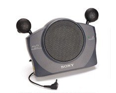 Sony SRS-T1 Unique fold-able Mini Active Speaker system for all iPod / MP3 / Laptop / Computer (Psp Sony Mp3)