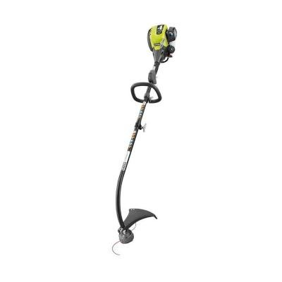 Ryobi RY34426 4-Cycle 30 cc Attachment Capable Curved Shaft Gas Trimmer (Shaft Ryobi)