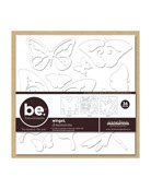 s Bare Elements Chipboard Die Cuts (12 X 12 Inch Sheets) 3 Per Package - Wings ()