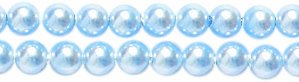 Swarovski Elements Crystal Round Pearl Beads, 3mm, Light Blue, 50-Pack Shipwreck Beads 3CR672