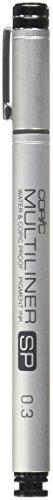 Copic Multiliner SP Black Ink Marker, 0.3 Tip - Tip Black Ink Markers
