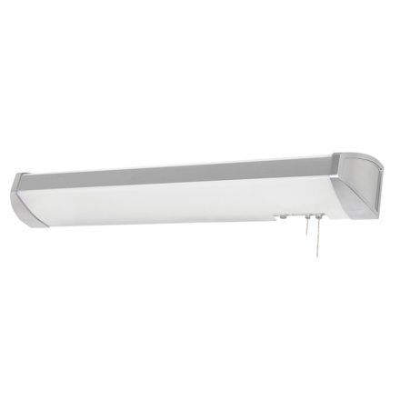MSEC lights by AFX, IDB332E8BN, Designer Overbed Hospital Light w/ Accent Trim, Fluorescent, 32 watt - Brushed Nickel
