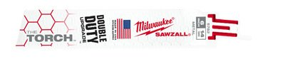 Milwaukee 48-01-2782 6 in. 14T Torch Reciprocating Blade44; Pack of 25