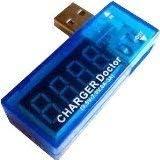 【ノーブランド】 USB 簡易電圧・電流チェッカー (3.4V~7.0V,0A~3A)