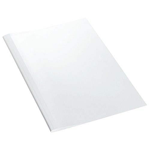 Leitz 177115 A4 Cartón Transparente, Color blanco 25pieza(s) - Cubierta (A4, Cartón, Transparente, Blanco, 30 hojas, 240 g/m², 80 g/m²)