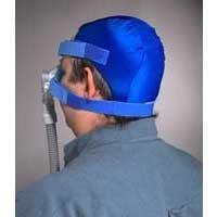 Softcap Headgear, Non-Mesh -Blue Medium ()