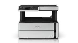 Epson M2140 EcoTank Monochrome All-in-One Duplex Ink Tank Printer (White)