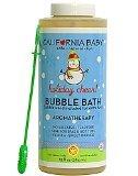 California Baby Holiday Bubble Bath Vanilla Orange and Lavender -- 13 fl oz