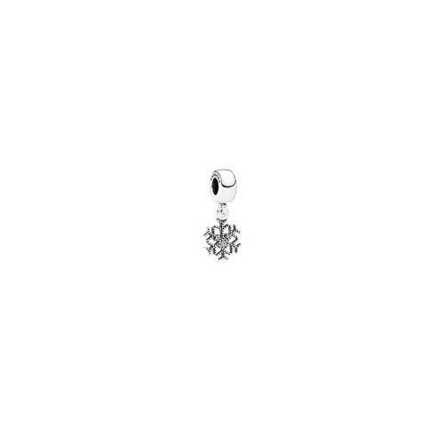 PANDORA Disney Jewelry Collection Silver Cz Mickey's Sparkling Snowflake Charm