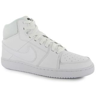 wholesale dealer 08dff 8e68b Nike Backboard II Mid, Chaussures spécial Basket-Ball pour Homme Blanc 44