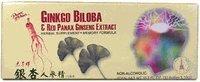 Ginkgo / Panax Ginseng Ginkgo Biloba 30x10cc / Red Ginseng Panx