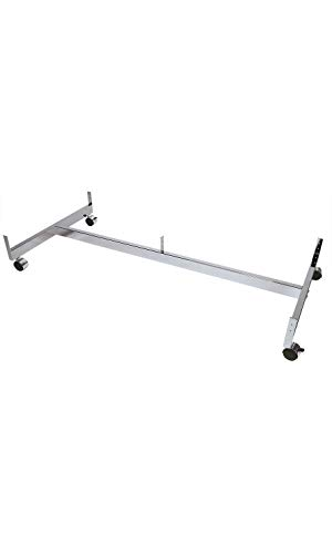 - Chrome Grid Gondola Base with Casters (Use with existing 3