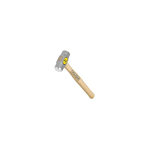Truper 30914 3-Pound Engineer Hammer, Hickory Handle, 16-Inch