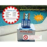 (Copper Anode - 2 anodes & 2 basket & 2 Wing screws - fits many Solar Ionizer brands - EXPEDITED SHIPPING - NO SALES TAX )