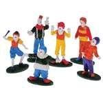 Clown Figures 12 Count