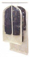 Set of 2 Fabric Window Garment Bags