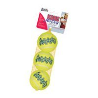 Kong Company 3Pk Xsm Tennis Ball Toy Ast5m Cat and Dog Toy, My Pet Supplies