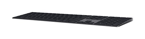 Apple Magic Keyboard with Numeric Keypad (Wireless, Rechargable) (US English) - Space Gray (Apple Trackpad Keyboard Connect)