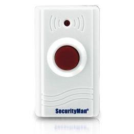 SecurityMan SM89 Wireless Panic Button for Air-Alarm1 and Air-AlarmII - White
