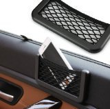 (Hanging style Multifunctional compartment mesh bag Car Storage Car Accessories/small objects/gum/cosmetic money/glasses/phone)
