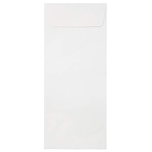 JAM PAPER #14 Business Strathmore Envelopes - 5 x 11 1/2 - Bright White Wove - 25/Pack