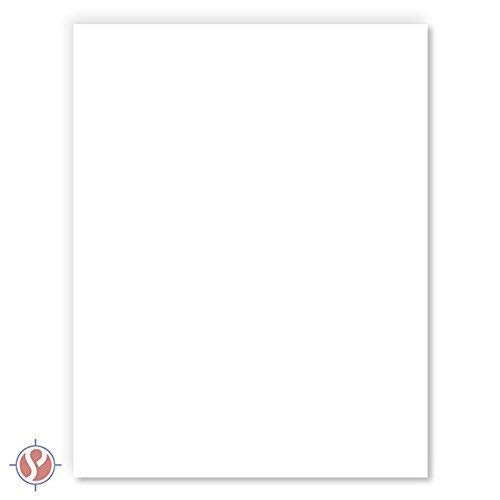 """Cardstock Sheets 100 Pieces Heavyweight 80lb Cream 5/"""" X 7/"""" Cards Invitations"""