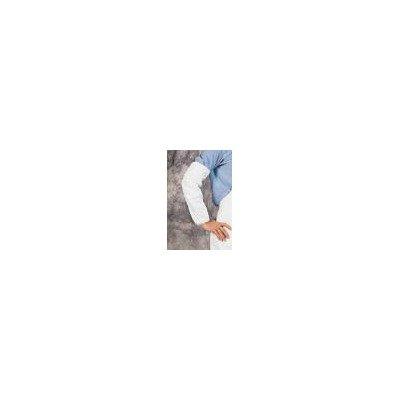 White Tyvek Sleeve Serged Elastic product image