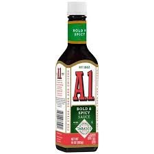 A1 Bold & Spicy Sauce with Tabasco Sauce 10 oz -- Pack of ()