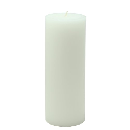 "Zest Candle CPZ-112_24 24-Piece Pillar Candle, 2\"" x 6\"", White"