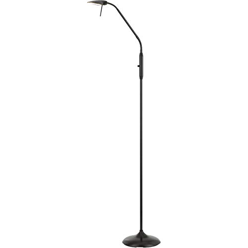 Floor Lamps 1 Light Fixture with Dark Bronze Finish Metal Material LED 9