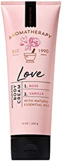 (Bath and Body Works Aromatherapy LOVE - ROSE + VANILLA Body Cream 8 Ounce)