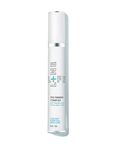 Anti-Wrinkle Eye Firming Cream Complex with stem cells technology - by Lifeline Skin Care - 0.5 oz (Best Stem Cell Skin Care)