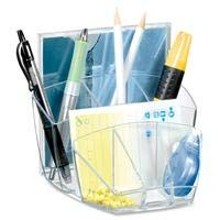 CEP Desktop Organizer with 4 Compartments, 4-3/5 by 3-1/2 by 3-4/5-Inch, ()