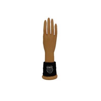 Unisex 3 Inch Wrist Band [Set of 4] Color: Black