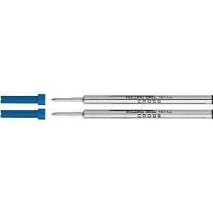 4 - Cross Rollerball Selectip Gel Pen Refills - Blue Ink