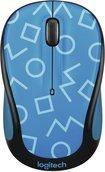 Blue Mouse Optical 3 Button - Logitech - M325c Optical Mouse - Geo Blue