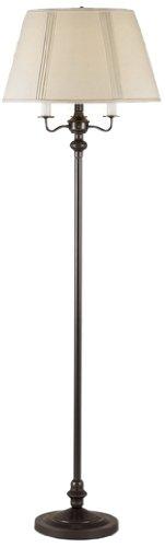 Cal Lighting BO-315-DB Transitional Floor Lamp, 150-watt, Da
