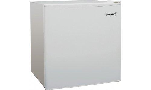 Shivaki SHRF-50CH Mini-Gefrierschrank / A+ / 49,2 cm Höhe / 106 kWh / 45 L Kühlteil / 5 L Gefrierteil / Schmuckstück für jedes Ambiente