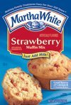 Martha White Muffin Mix - Strawberry - 7 oz (Pack of 6)