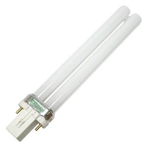 Philips Lighting 148692 PL-S Linear Compact Fluorescent Lamp 8.7 Watt 2-Pin G23 Base 600 Lumens 82 CRI 3500K White Alto ()