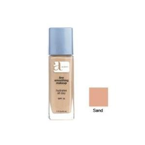 Almay Line Smoothing Liquid Makeup for Dry Skin, Sand SPF 15 - 1 Ea (Makeup Line Smoothing Foundation Liquid)