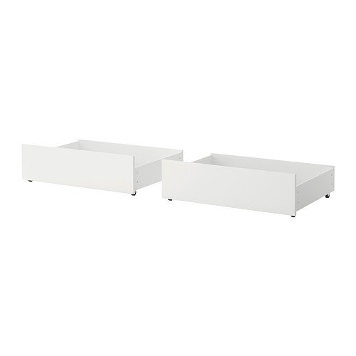 Ikea Malm Ikea Full/Double/Twin/Single Size Underbed Storage Box for High Bed White 002.527.19
