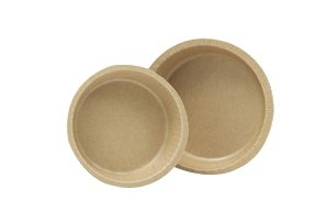 Solut 90888 Kraft Paper Smooth Wall Round Baking Cup with Flange, 4-5/8'' Diameter x 1-3/16'' Depth, Natural, 8-Ounce Capacity (Case of 700) by SOLUT!