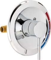Chicago Faucets SH-PB1-00-000 Pressure Balancing Valve and Trim for Tub and Show, Chrome ()