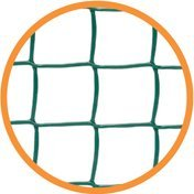 Climbanet Garden Trellis Netting for Climbing Plants, 5m x 0.5m, green