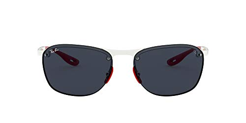 Ray-Ban Men's Rb4302m Scuderia Ferrari Collection Square Sunglasses